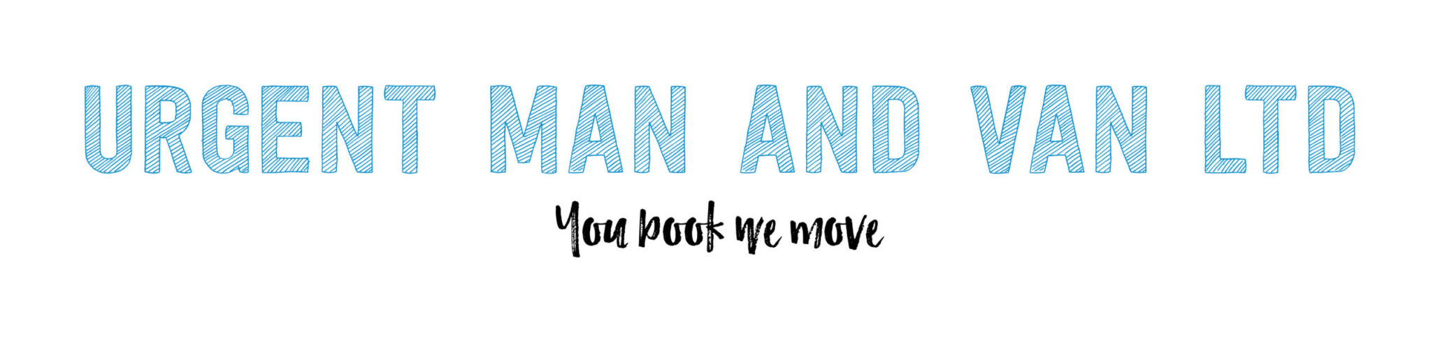 Urgent Man And Van Logo